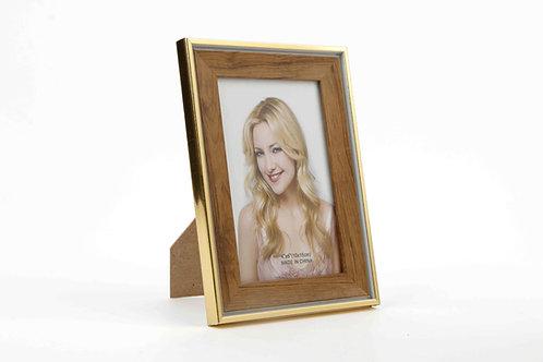 Porta Retrato Dorado Pequeño