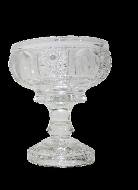 Copa De Vidrio Brocado Grande
