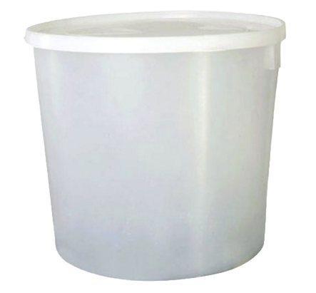 Envase 24 Libras (12 Litros) Con Tapa