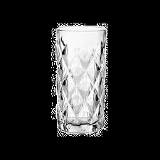 Vaso De Vidrio Brocado Triangular