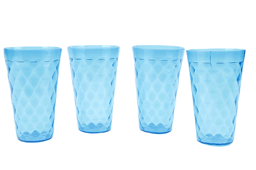 Set 4 Vasos Altos Plásticos