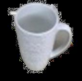 Taza De Leche De Cerámica Blanca