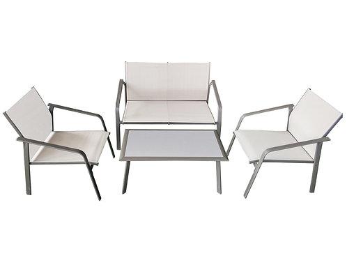 Set de Sofás de Metal Diagonal