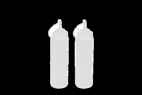 Set De Botellas De Condimentos Transparente