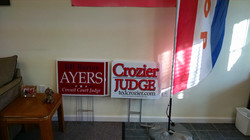 Candidate signs_