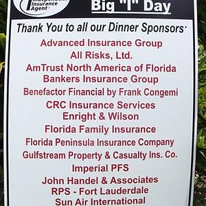 2012 Big I Sponsors