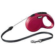 laisse-flexi-new-classic-rouge-avec-cord