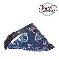 collier-reglable-tissu-bleu-doogy-gamme-