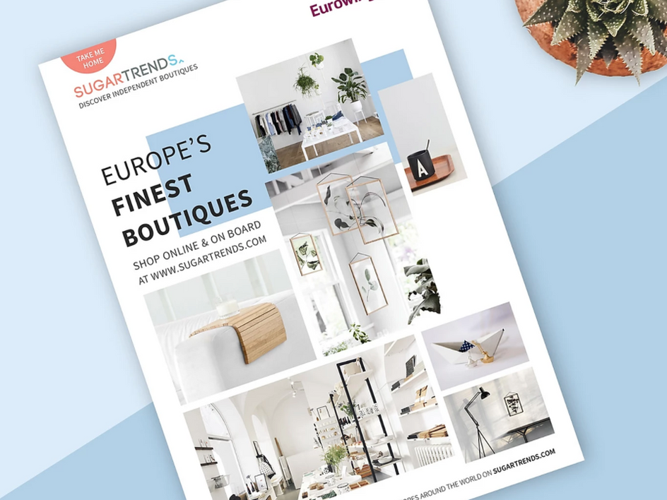 Sugartrends x Eurowings Magazine