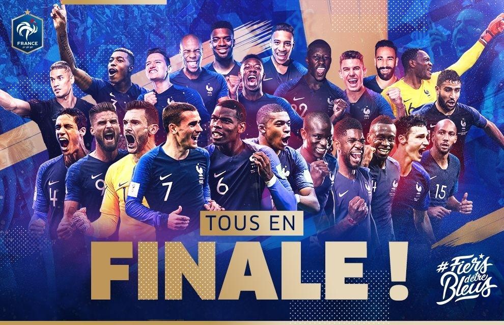 Finale Coupe du Monde - France-Croatie - Saumur