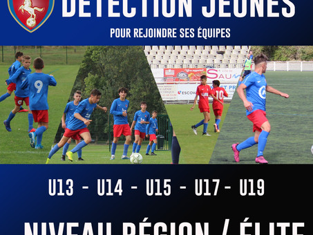 Jeunes  Elite / Région  :  L'OSFC recrute!