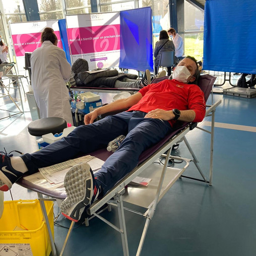 Un mois, une action: Don du sang