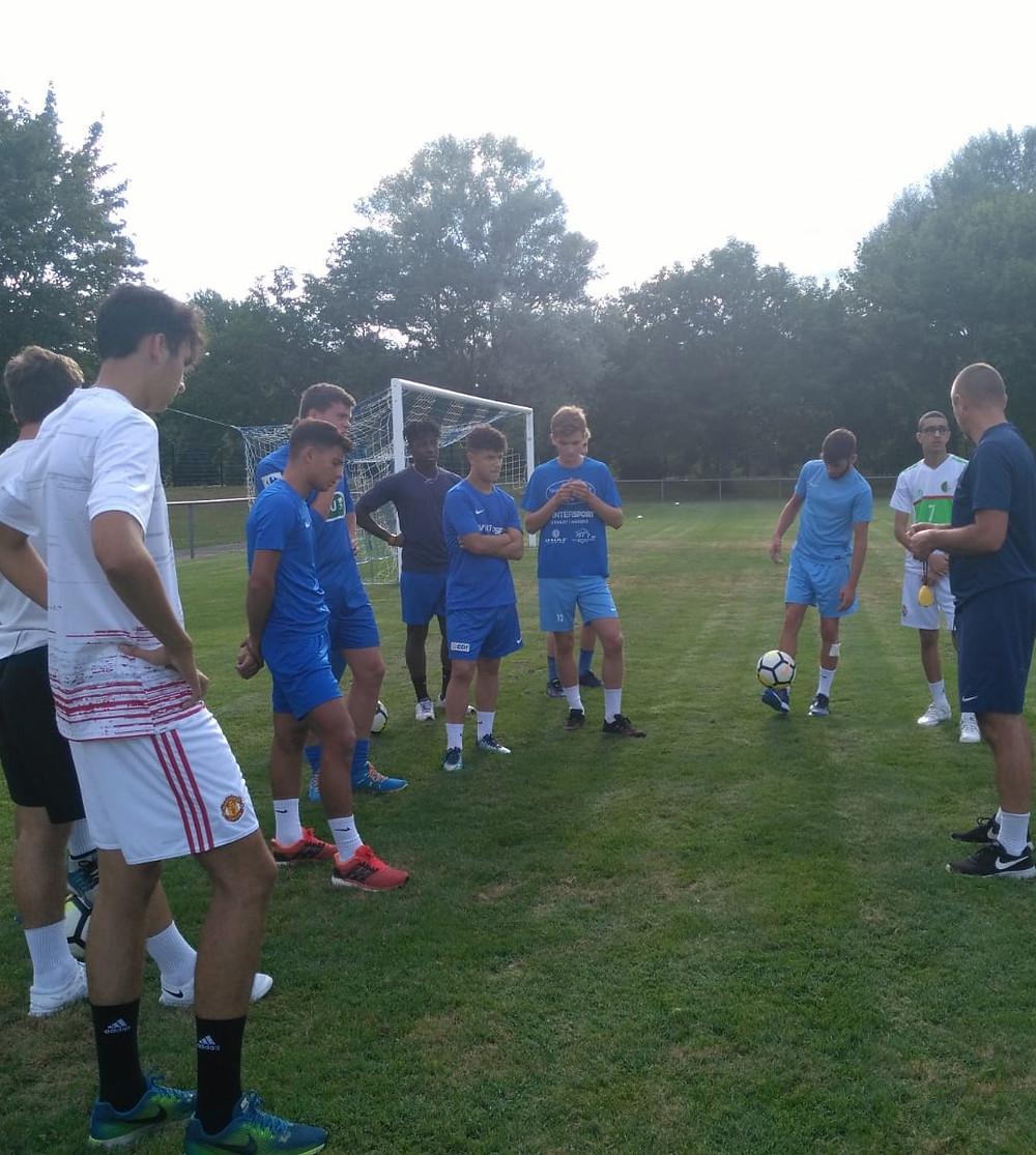 Reprise U19 - #TeamOSFC