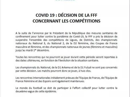 Covid-19: Les sports collectifs interdits...
