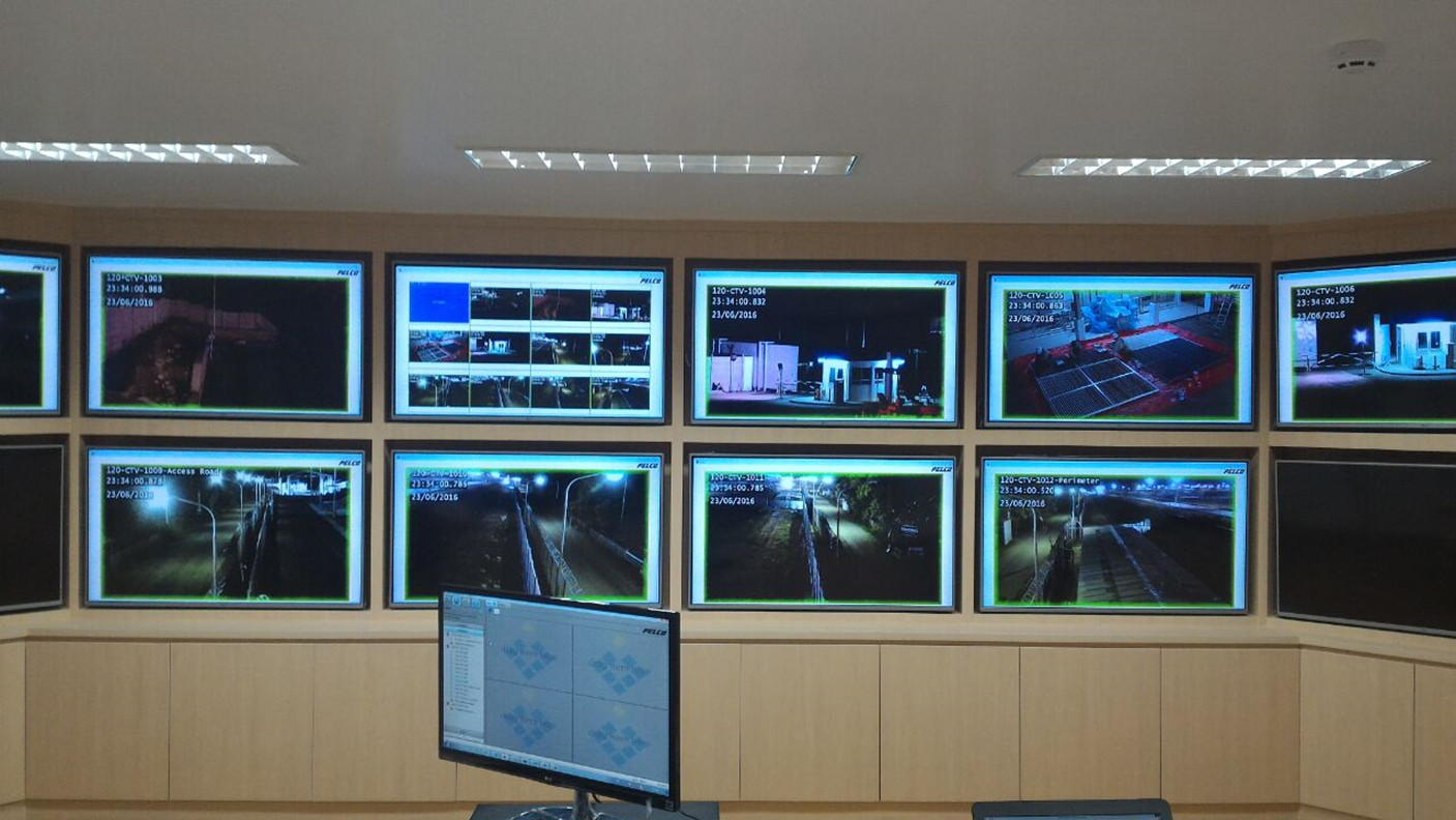 Monitoring Room Donggi Senoro LNG