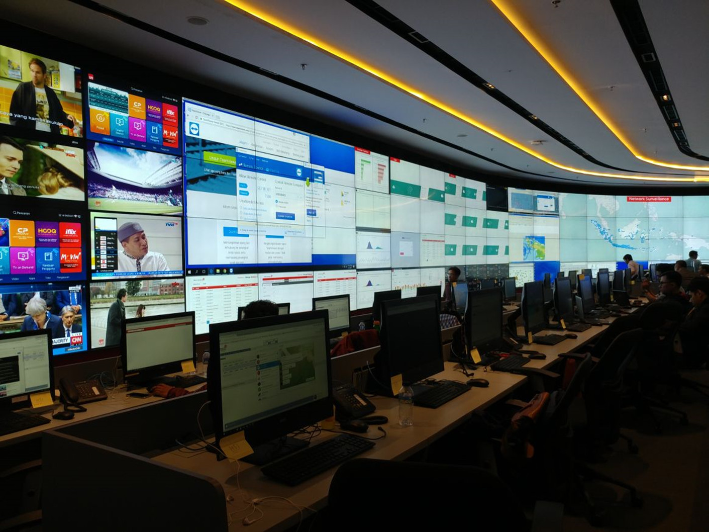 Telkom Intelligent Operation Center West Wing