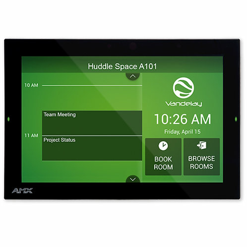 "MD-1002 Acendo Book AMX Acendo Book 10.1"" Scheduling Touch Panel"