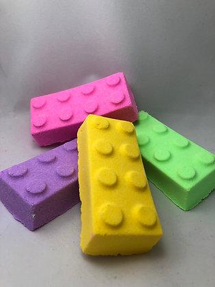 Building Brick Bath Bomb
