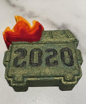 2020 Dumpster Fire Bath Bomb