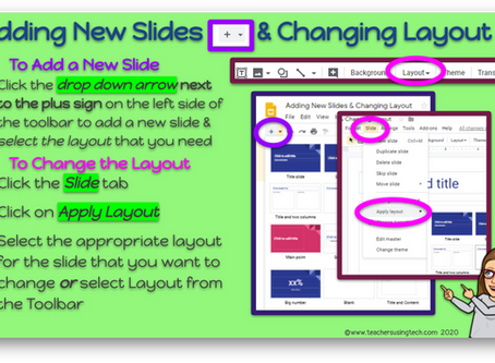 📄Quick Tip - Adding New Slides & Changing Layout