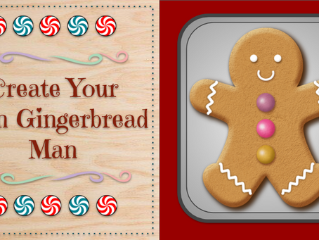⭐Create a Gingerbread Man⭐