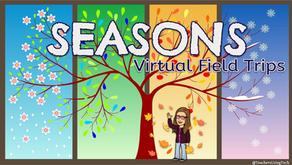 Seasons 🍂❄🌷🌞🚍 Virtual Field Trips