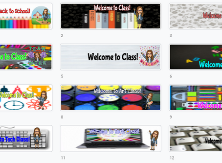Google Classroom Banners (Set 2) - 🍎Getting Ready for Back-to-School