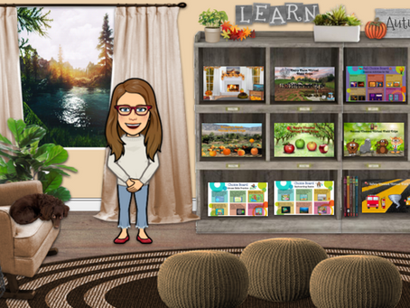 Organize and Easily Share Files in this Cozy 🍂Autumn Room!