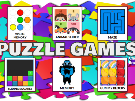 🧩Puzzle Games Choice Board🧩