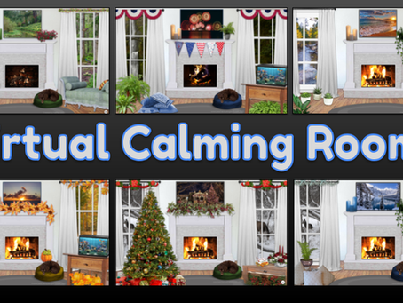 Virtual Calming Rooms for All Seasons 🌷🌞🍁⛄