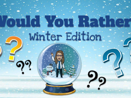 Would You Rather? ❓❔❄⛄Winter Edition⛄❄
