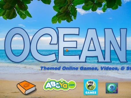 Ocean Activities & Stories 🌊🦑🦈
