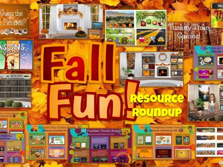Fall Resource Roundup!🍂🎃🚍🍎