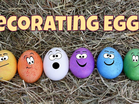 Decorating Virtual Eggs!🥚🎨