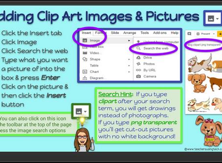 📷Quick Tip - Adding ClipArt Images