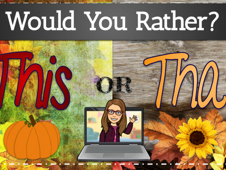 Would You Rather? 🍁🍂Autumn