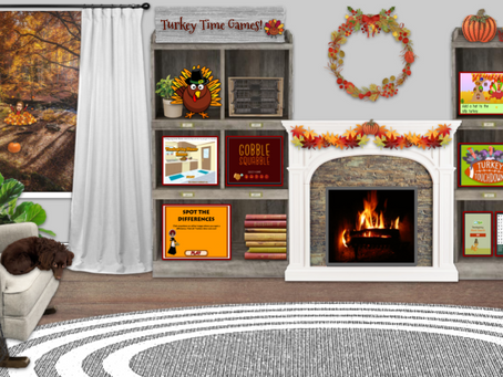 🦃Turkey Time Game Room