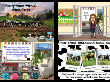 Dairy Farm🐄Virtual🚍Field Trips
