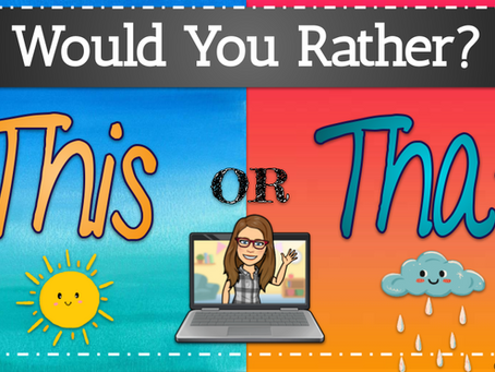 Would You Rather? 🌞Summertime