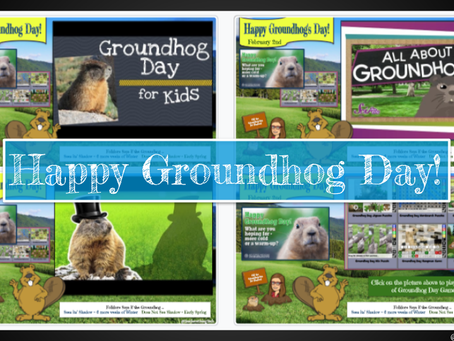 Groundhog Day 🚍Virtual Field Trips, 🎮Games, & More!🎴