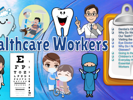 Healthcare Workers Themed 👩⚕️🩺👨⚕️ Virtual Field Trips