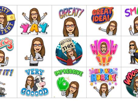 Create Your Own Custom Bitmoji Stickers