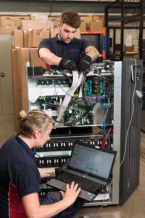 UPS maintenance engineers