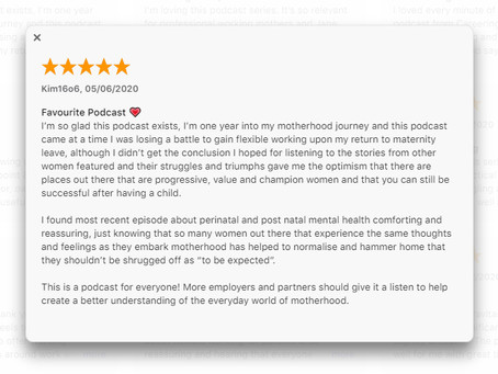 "Podcast Review: ""Favourite podcast 💗"""