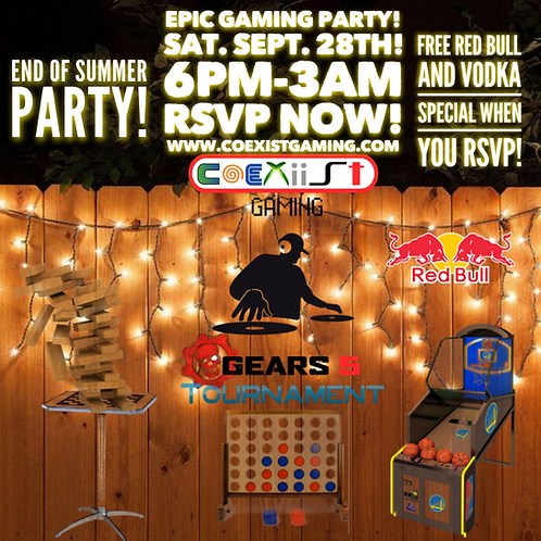 EPIC Gaming Party!