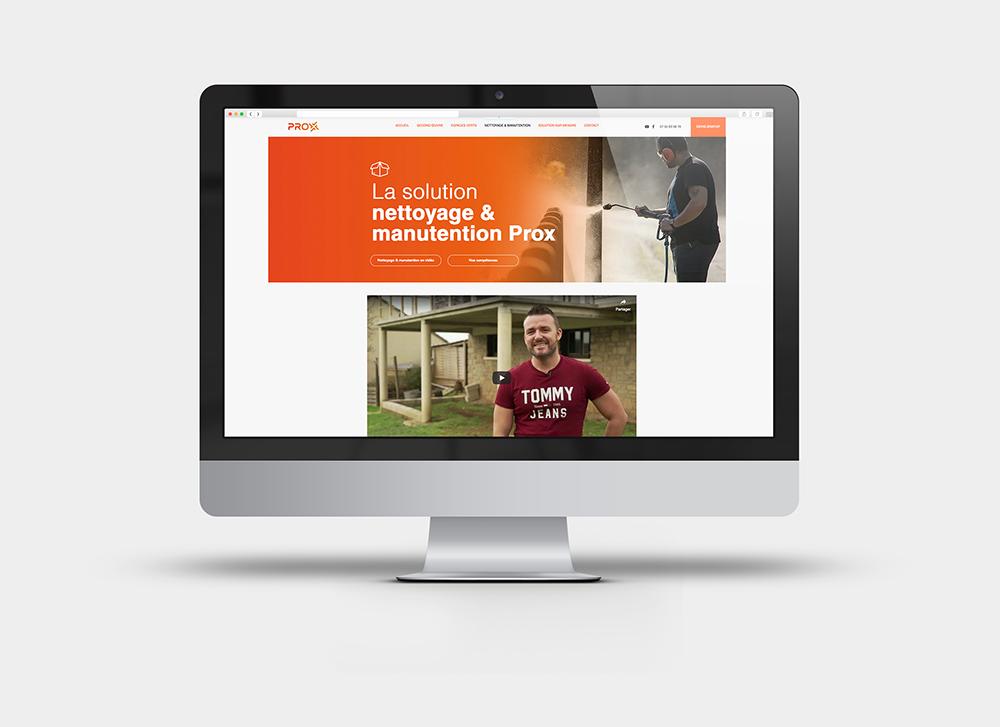création d'un site en onepage et version mobile