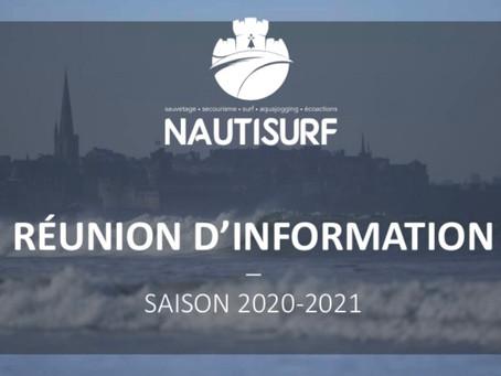 Rentrée saison 2020-2021