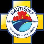 logo nautisurf st malo ffss sauvetage et