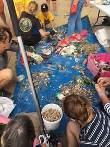 nettoyage de plages ecoactions avec naut