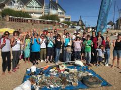 nettoyage de plages avec nautisurf saint